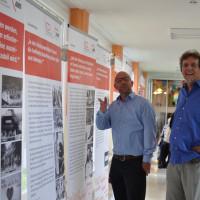 Stefan Hintermayr (Einrichtungsleiter AWO Seniorenzentrum Herrenbach) und Peter Biet (SPD Ortsvereinsvorsitzender)